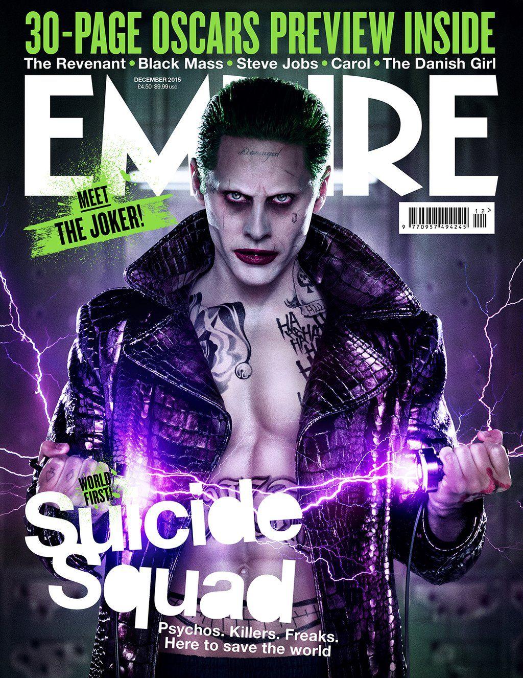 Suicide Squad: la copertina di Empire dedicata al Joker