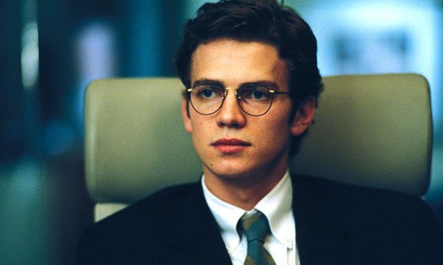 Hayden Christensen in Shattered Glass