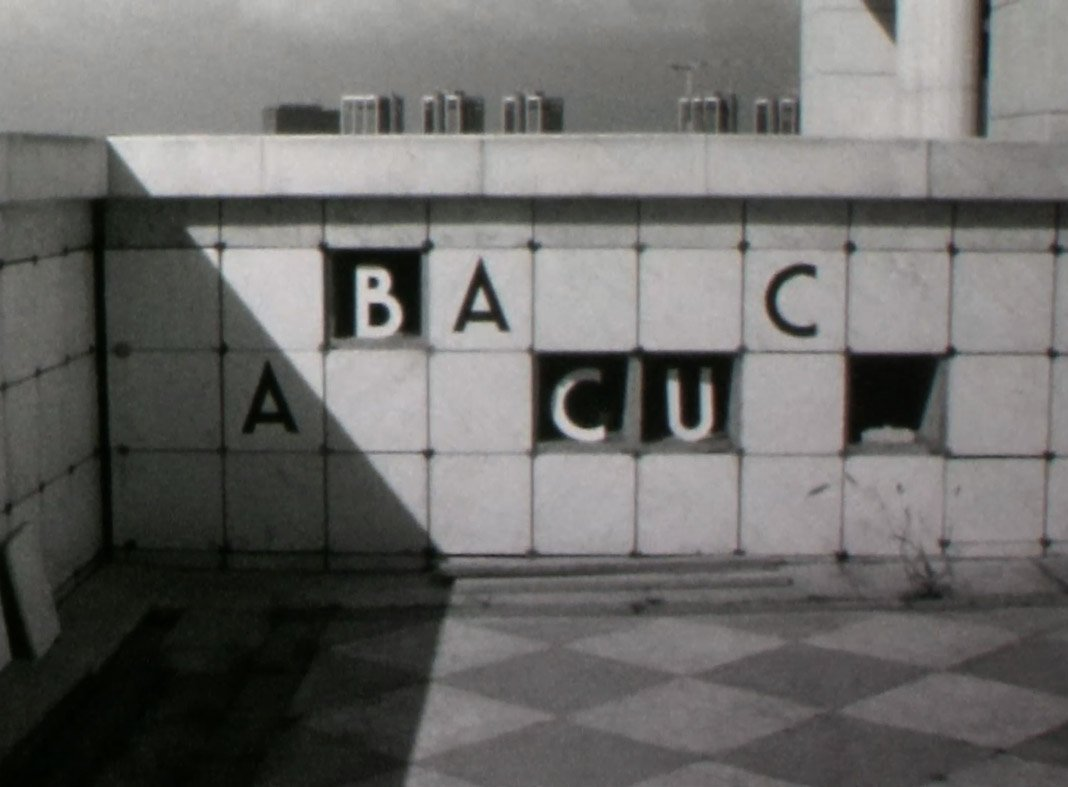 Abacuc: un'immagine tratta dal film