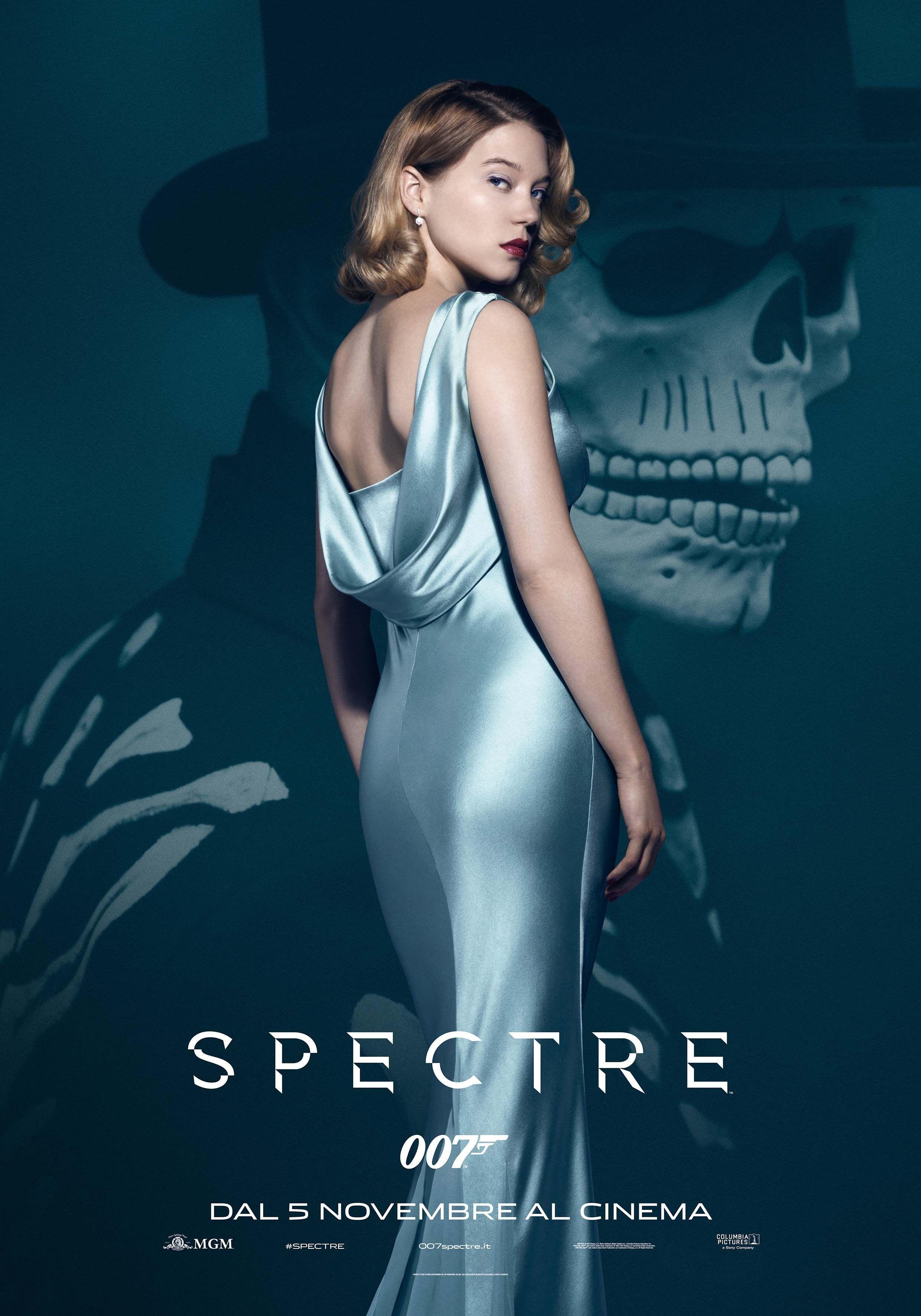 Lea Seydoux in  Spectre: character poster esclusivo
