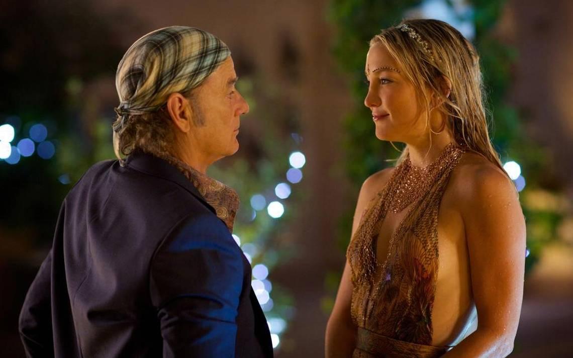 Rock the Kasbah: Bill Murray e Kate Hudson in una scena del film