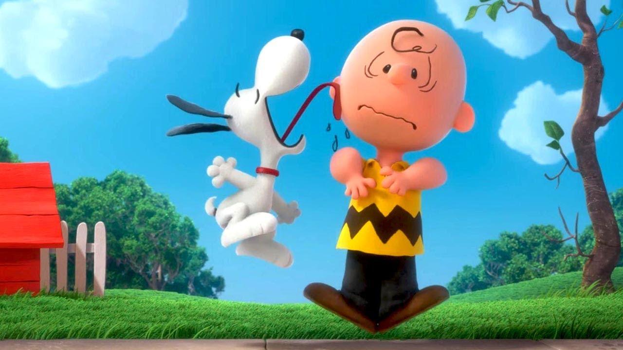 Snoopy & Friends - Il film dei Peanuts: Snoopy e Charlie Brown in una divertente immagine del film d'animazione