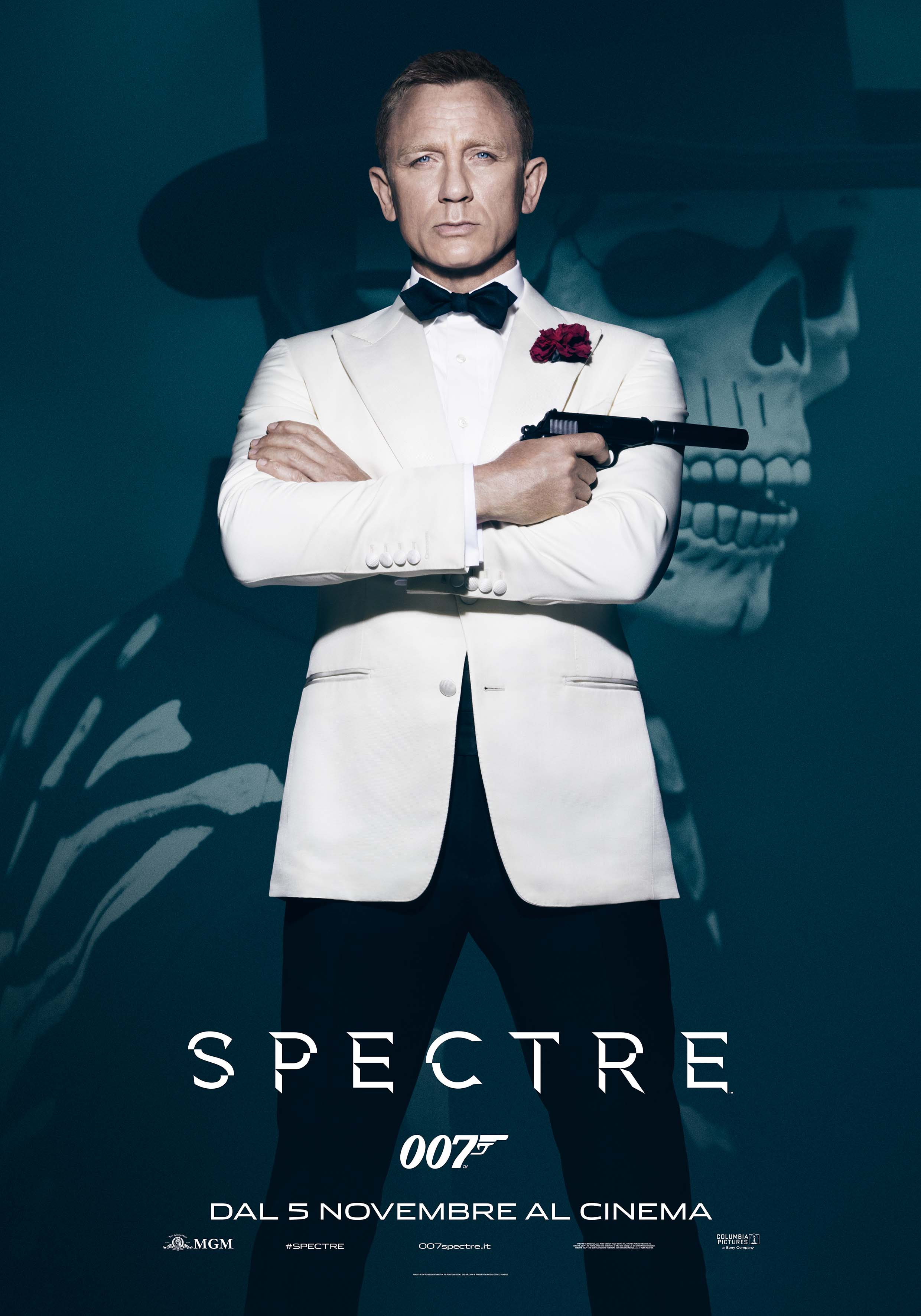 Spectre: il character poster di Daniel Craig