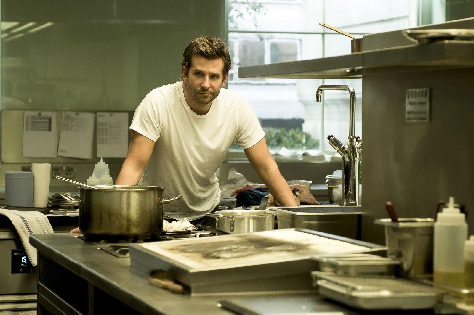 Il sapore del successo: Bradley Cooper in un'immagine del film