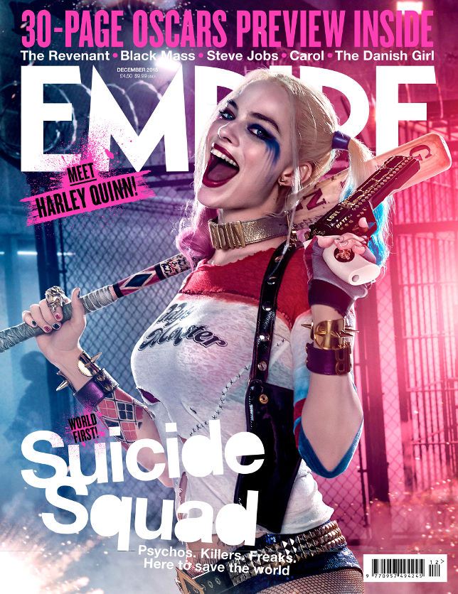 Suicide Squad: la copertina di Empire dedicata ad Harley Quinn