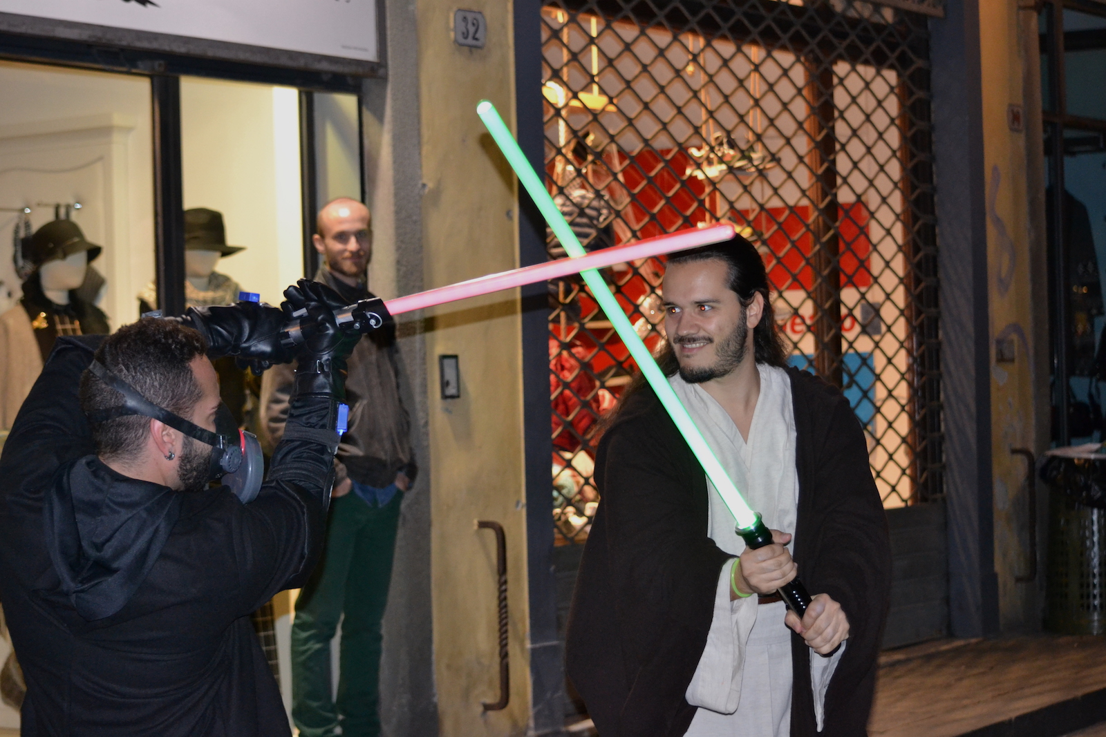 Lucca 2015: due cosplyer di Star Wars