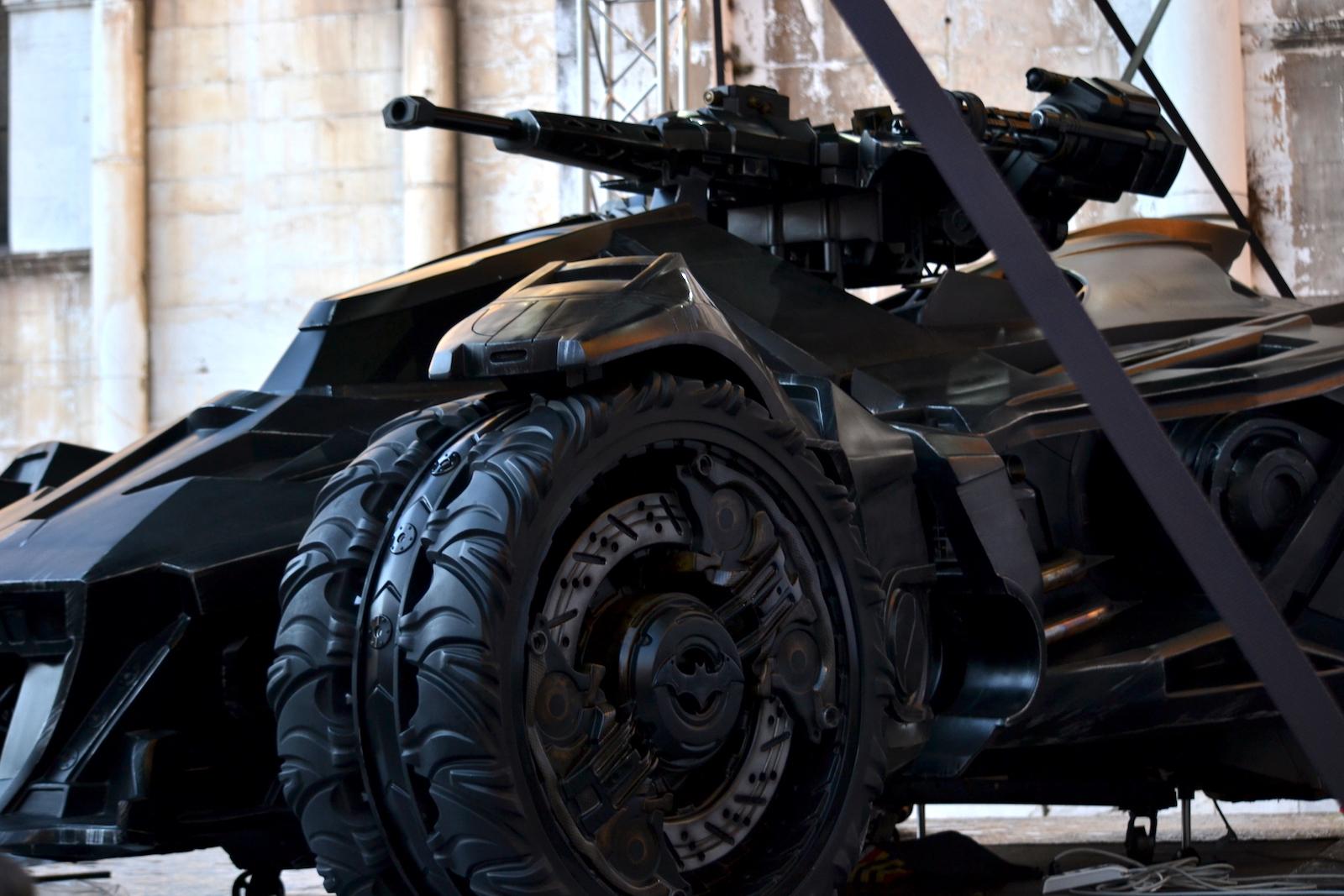 Lucca 2015: Batmobile del videogioco di  Batman: Arkham Knight