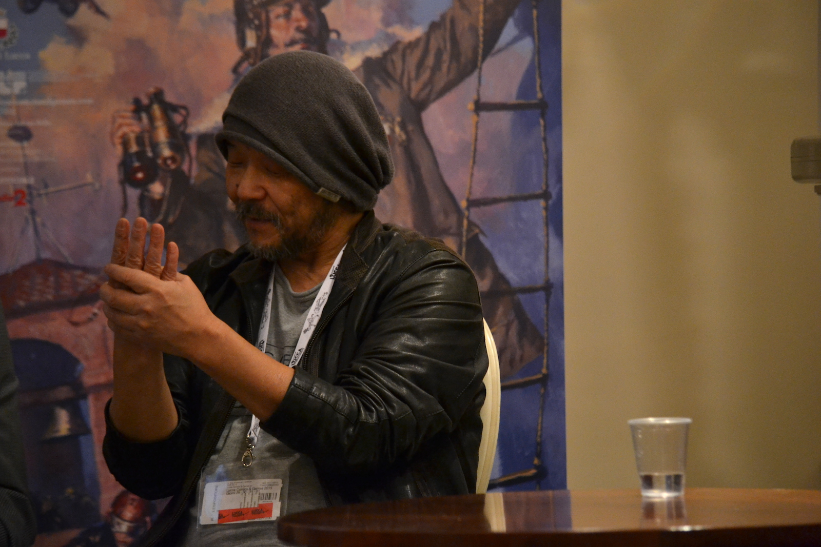 Mamoru Oshii presenta Garm Wars a Lucca Comics and Games 2015