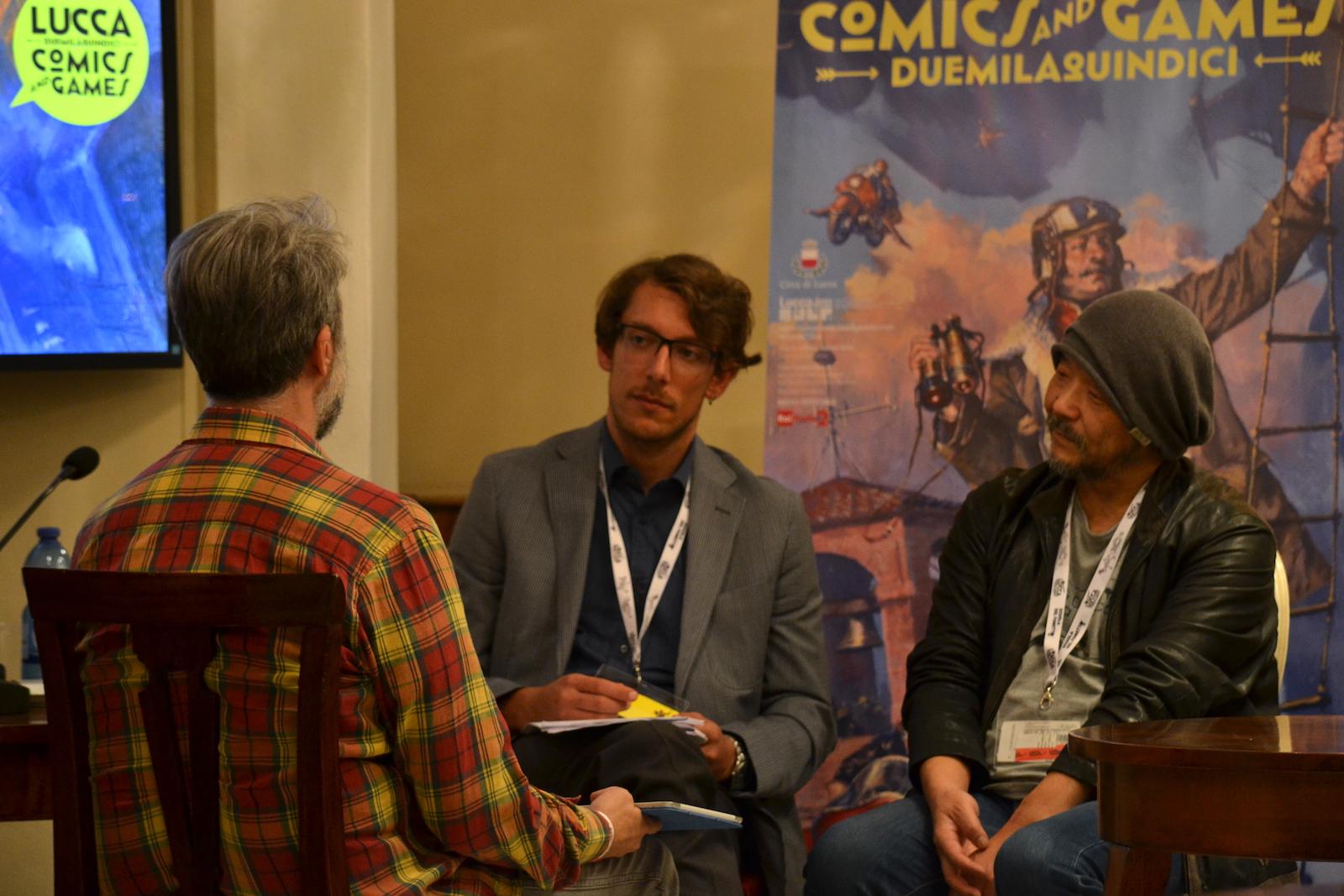 Mamoru Oshii ci parla di Garm Wars a Lucca Comics and Games 2015