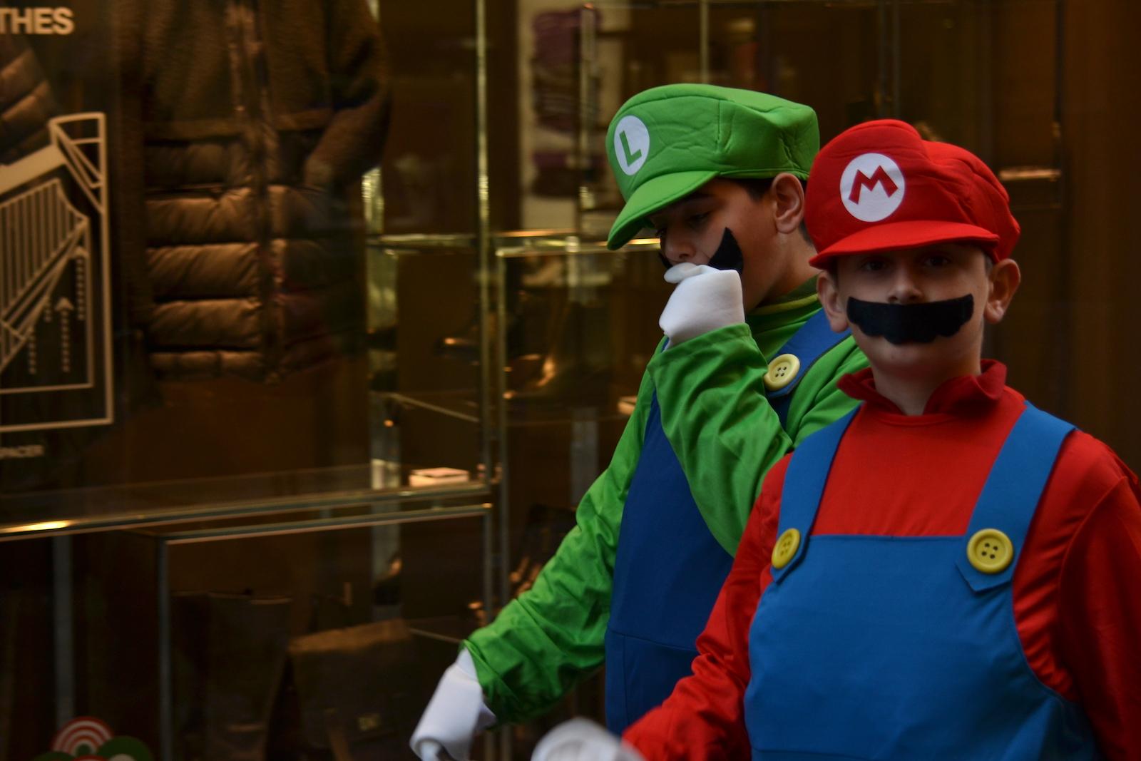 Lucca 2015: Cosplay di Mario e Luigi