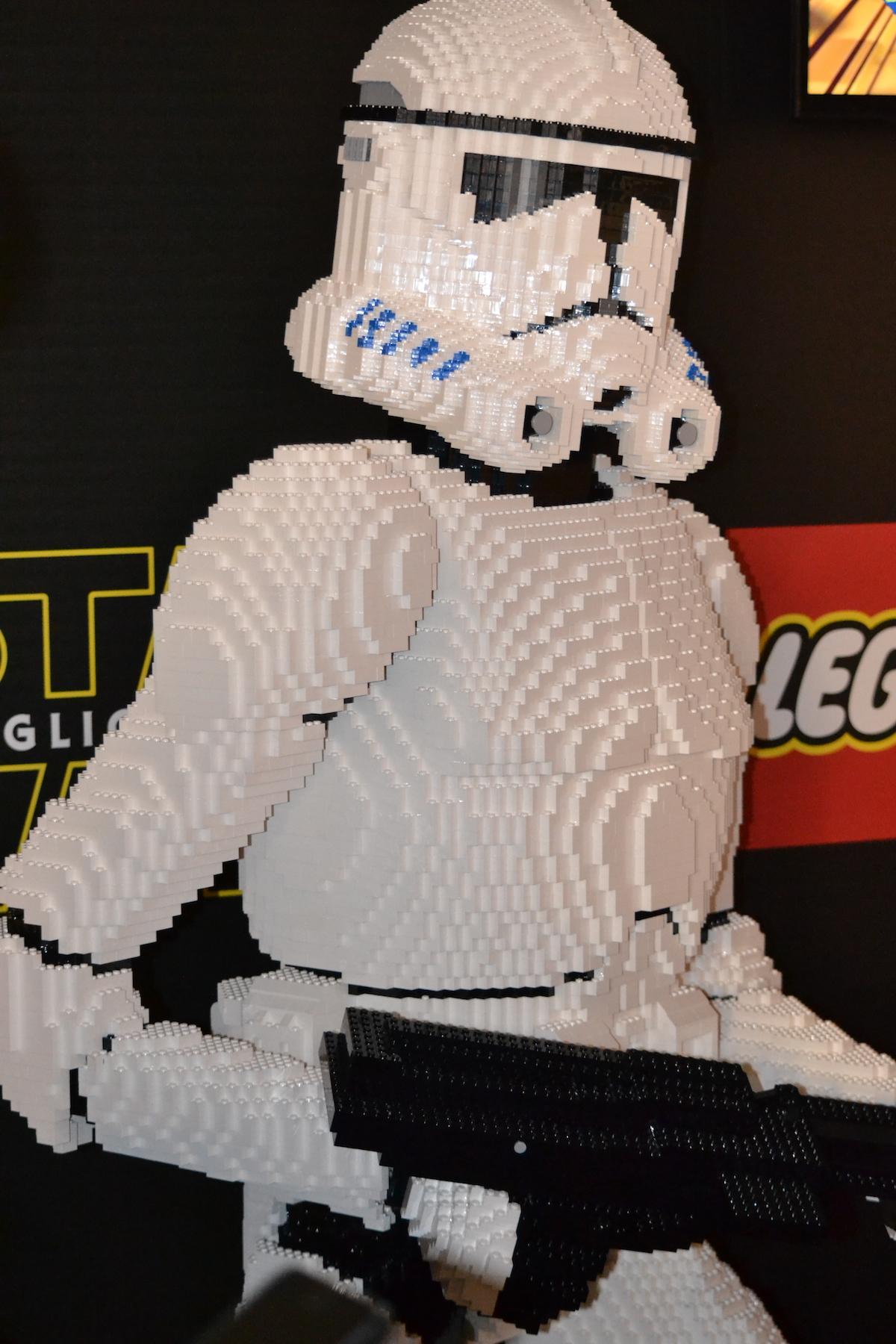 Lucca 2015: Stormtrooper di Lego al padiglione Star Wars