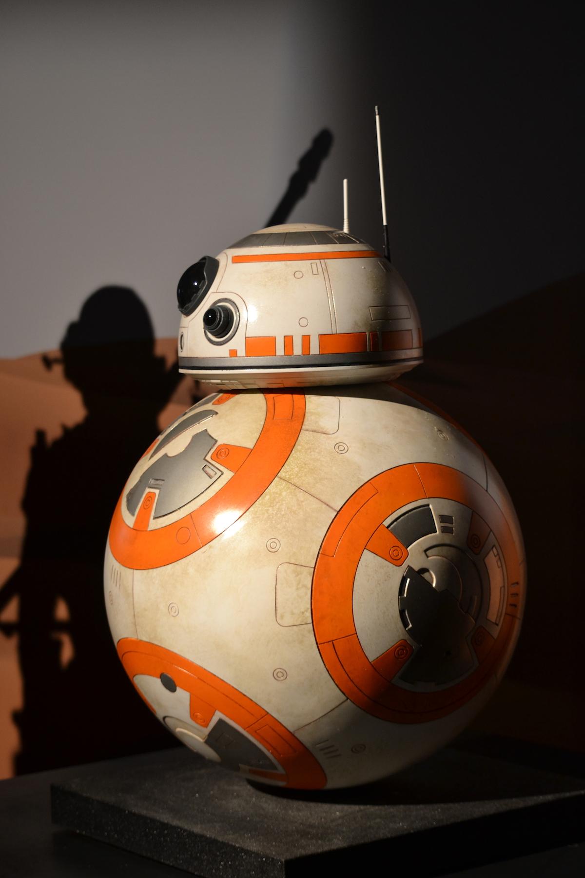 Lucca 2015: Riproduzione di BB8 al padiglione Star Wars