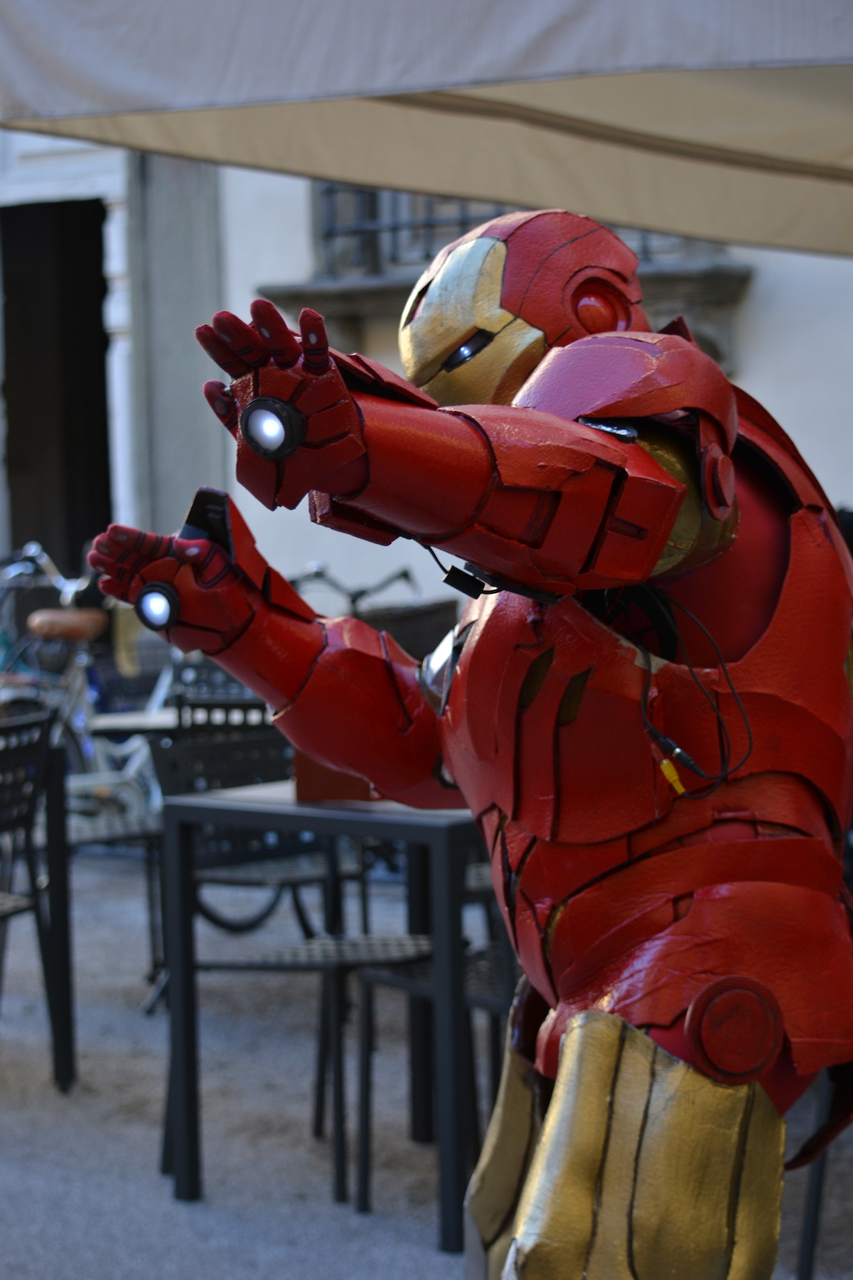 Lucca 2015: Cosplay di Iron man al Lucca Comics and Games