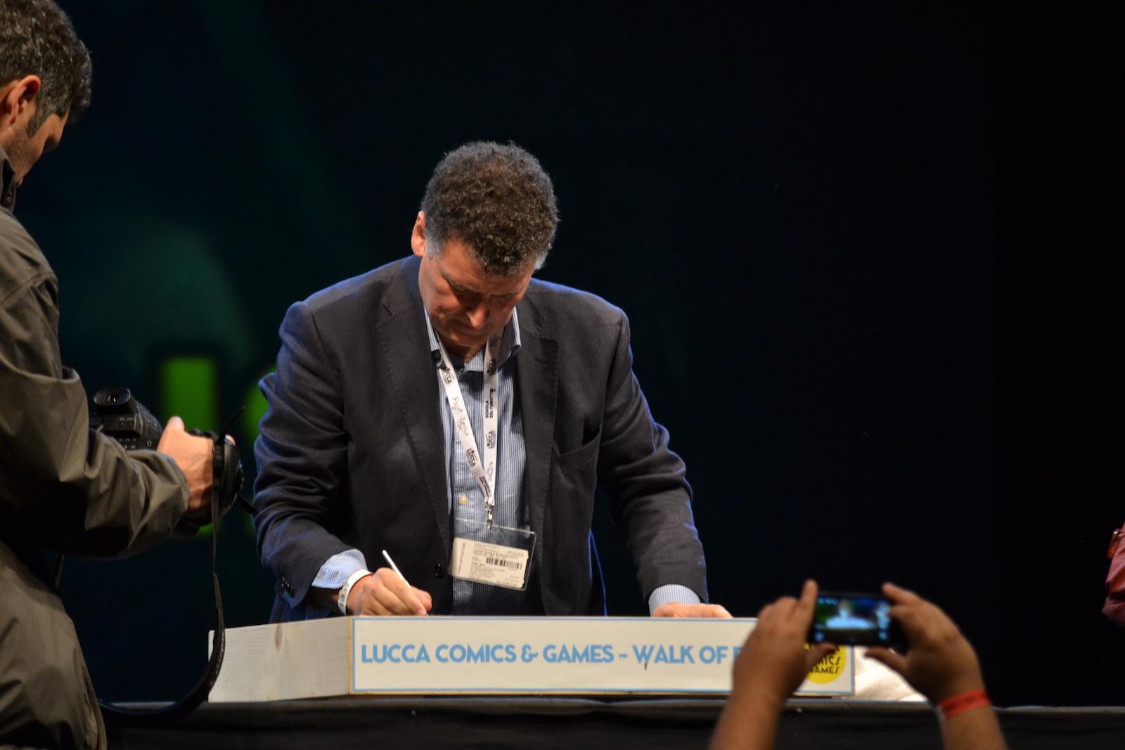 Lucca 2015: Steven Moffat lascia la sua firma