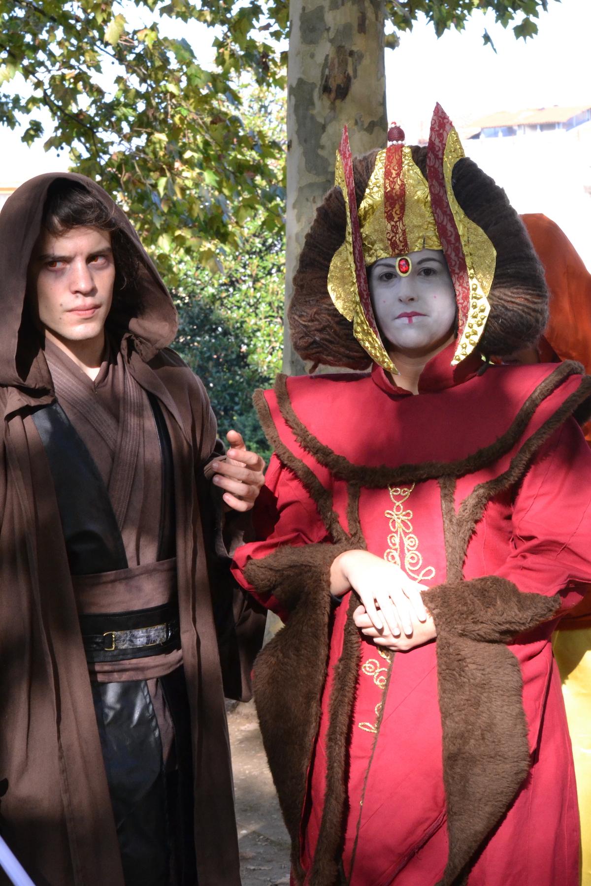 Lucca 2015: Cosplay di Padmé Amidala e Anakin Skywalker