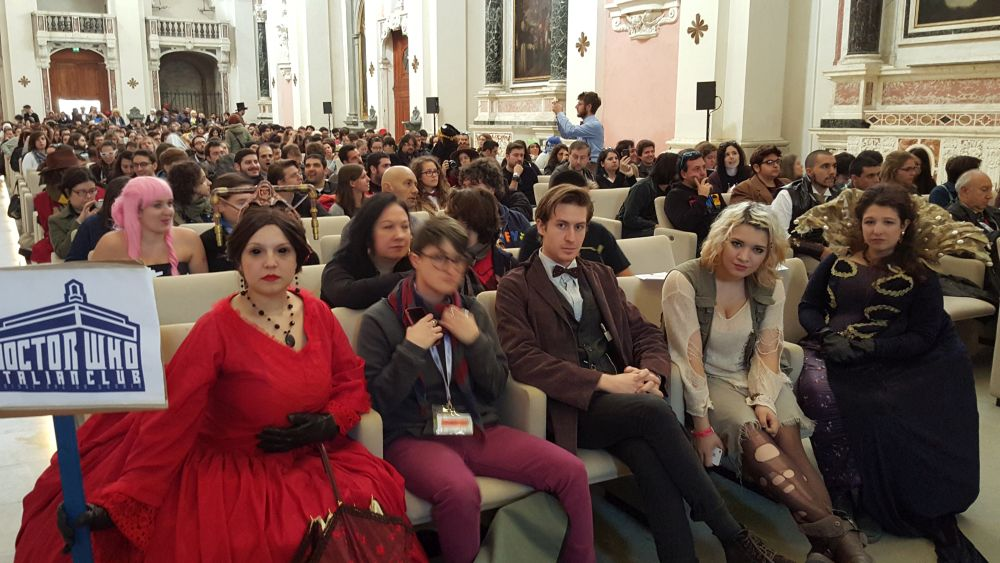 Il fandom del Doctor who a Lucca Comics & Games 2015