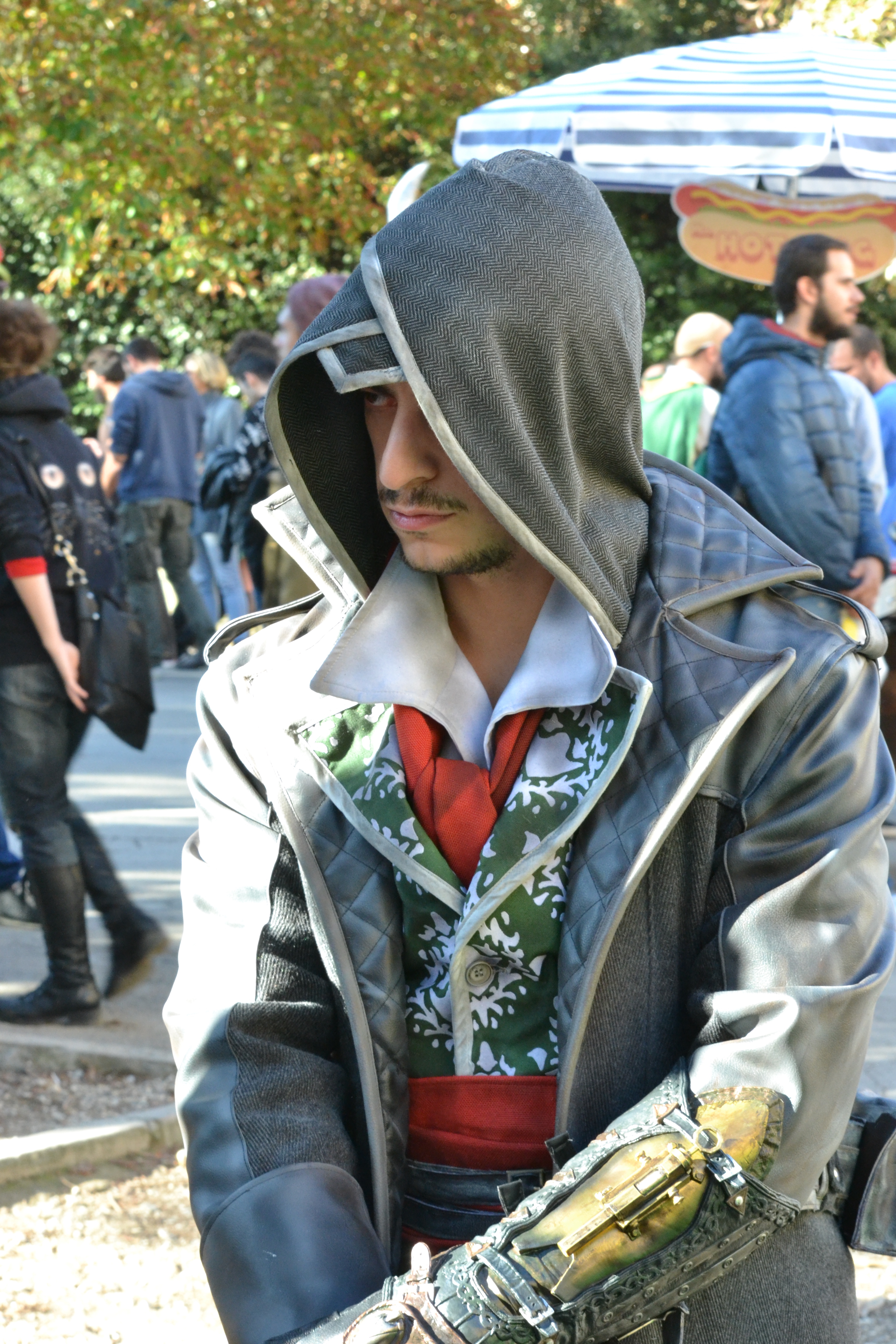 Lucca 2015: cosplay di assassin's creed