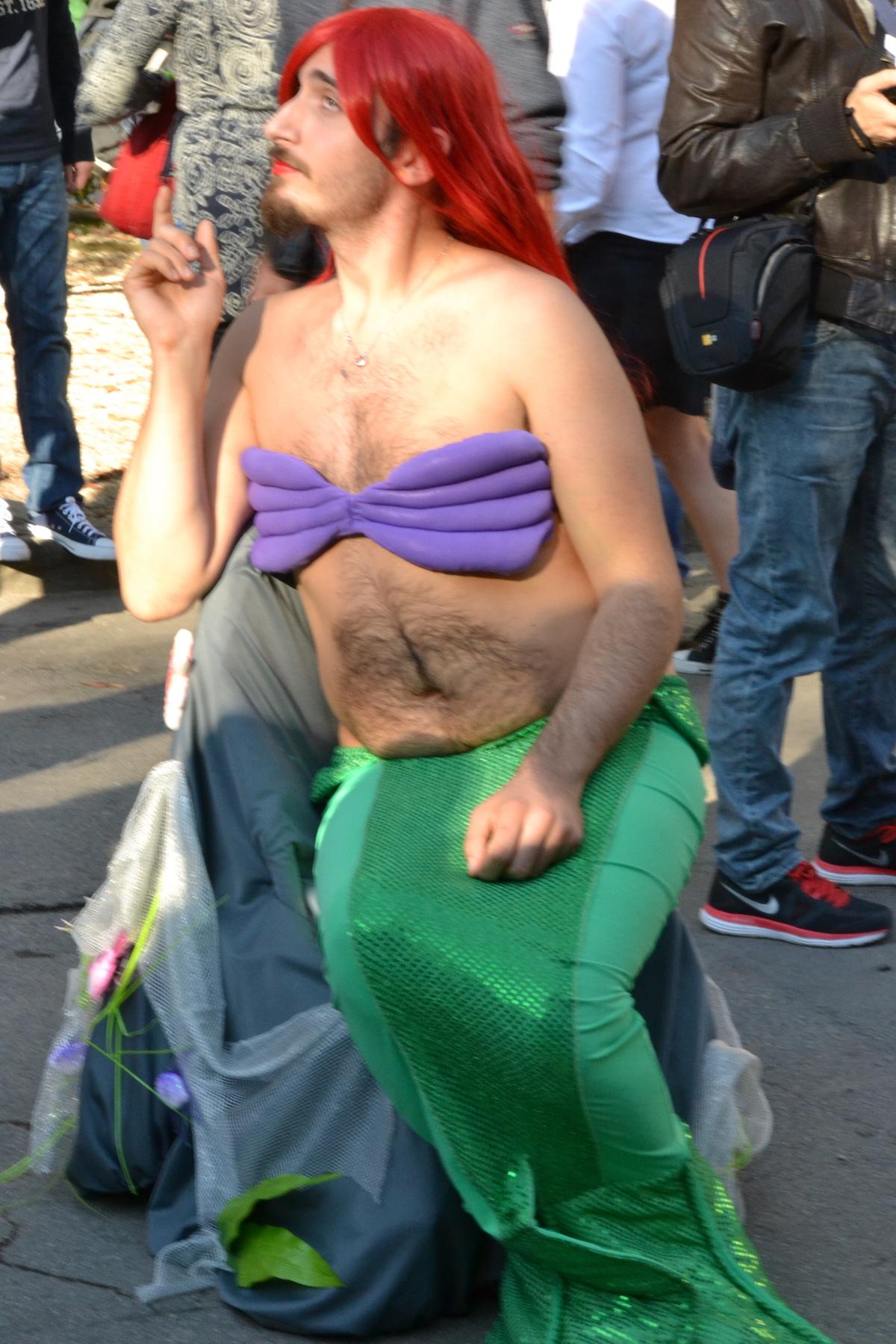 Lucca 2015: una sirenetta un pò particolare
