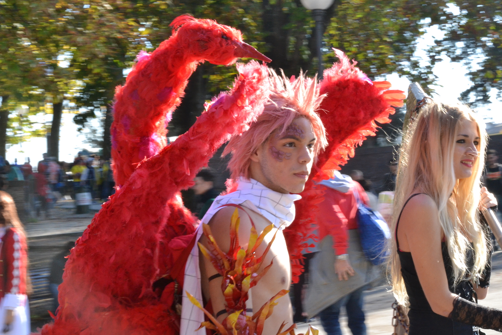 Lucca 2015: due ragazzi in cosplay al Lucca Comics and Games