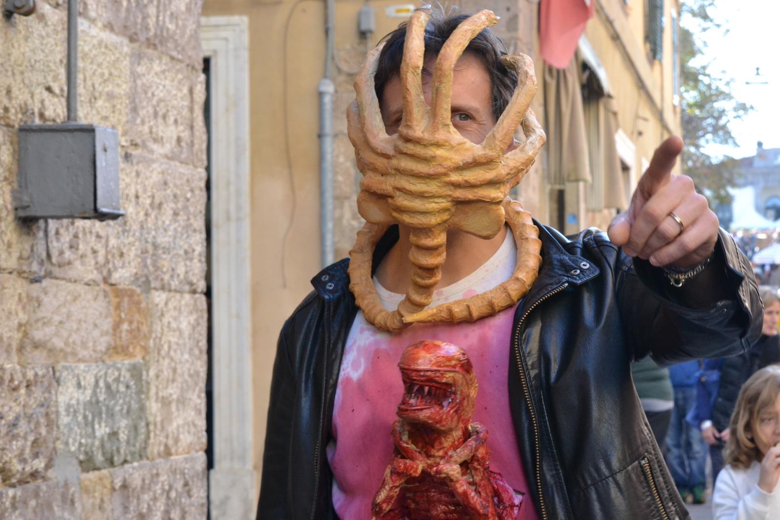 Lucca 2015: Cosplay ispirato alla saga di Alien