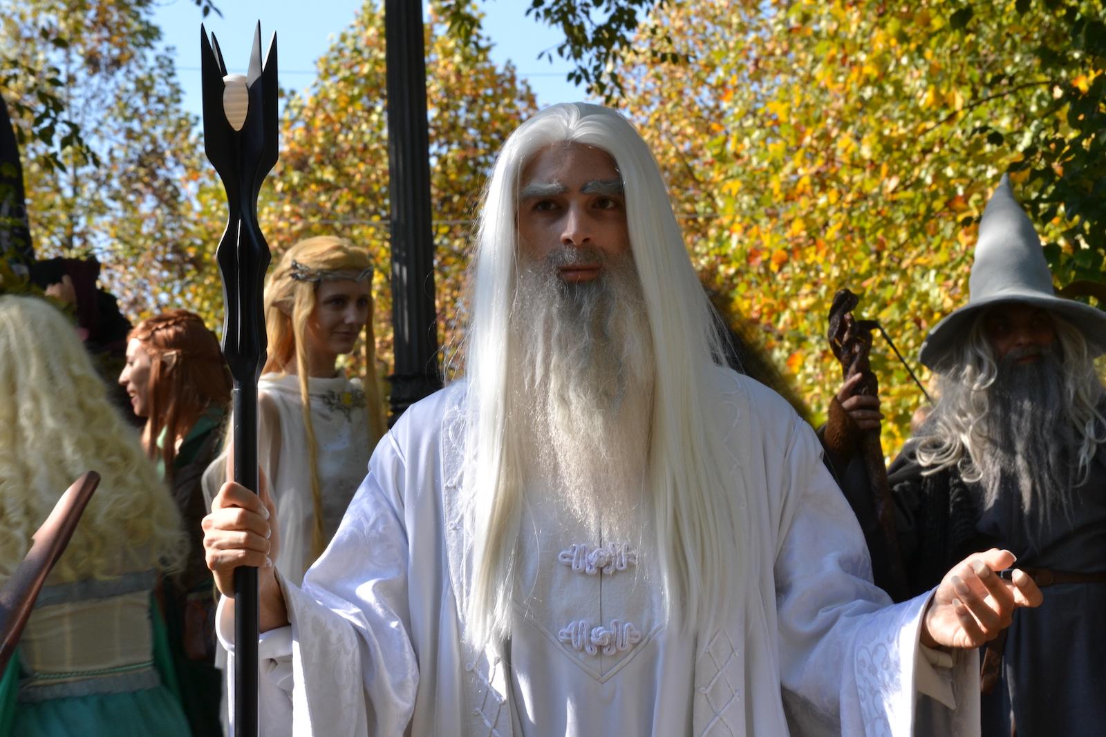 Lucca 2015: Cosplay di Saruman