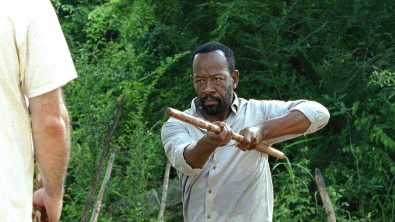 The Walking Dead: Lennie James in Qui non è qui