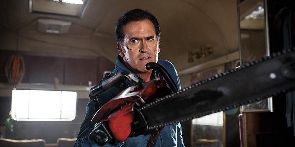 Ash vs. Evil Dead: Bruce Campbell interpreta Ash nel pilot