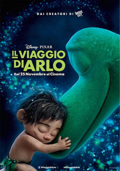 Il viaggio di Arlo: uno dei poster italiani del film