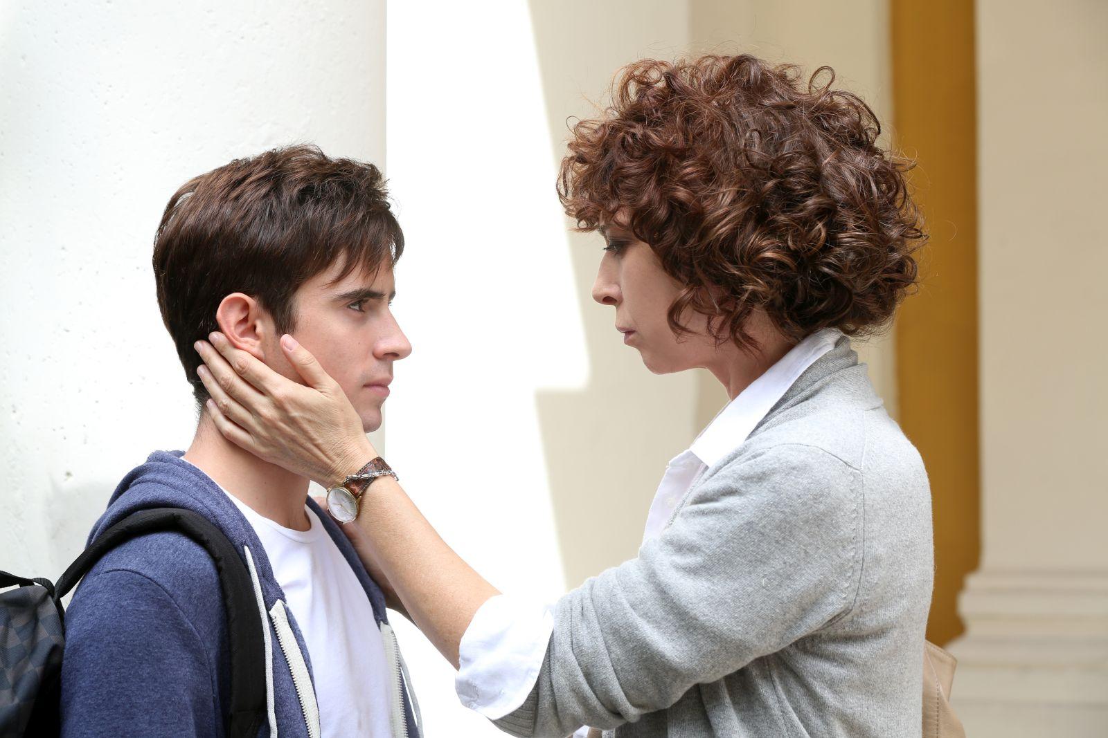 Né Giulietta né Romeo: Veronica Pivetti e Andrea Amato in una scena del film