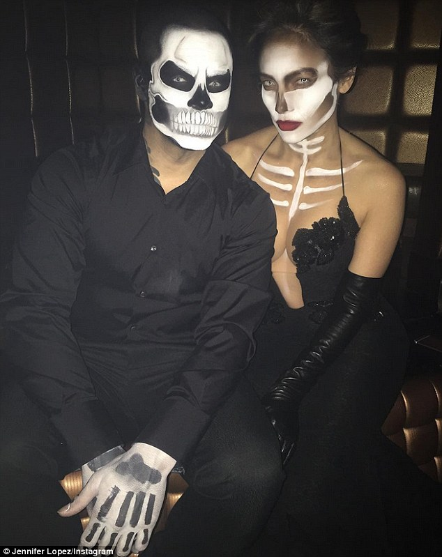 Jennifer Lopez e Casper Smart, Halloween 2015