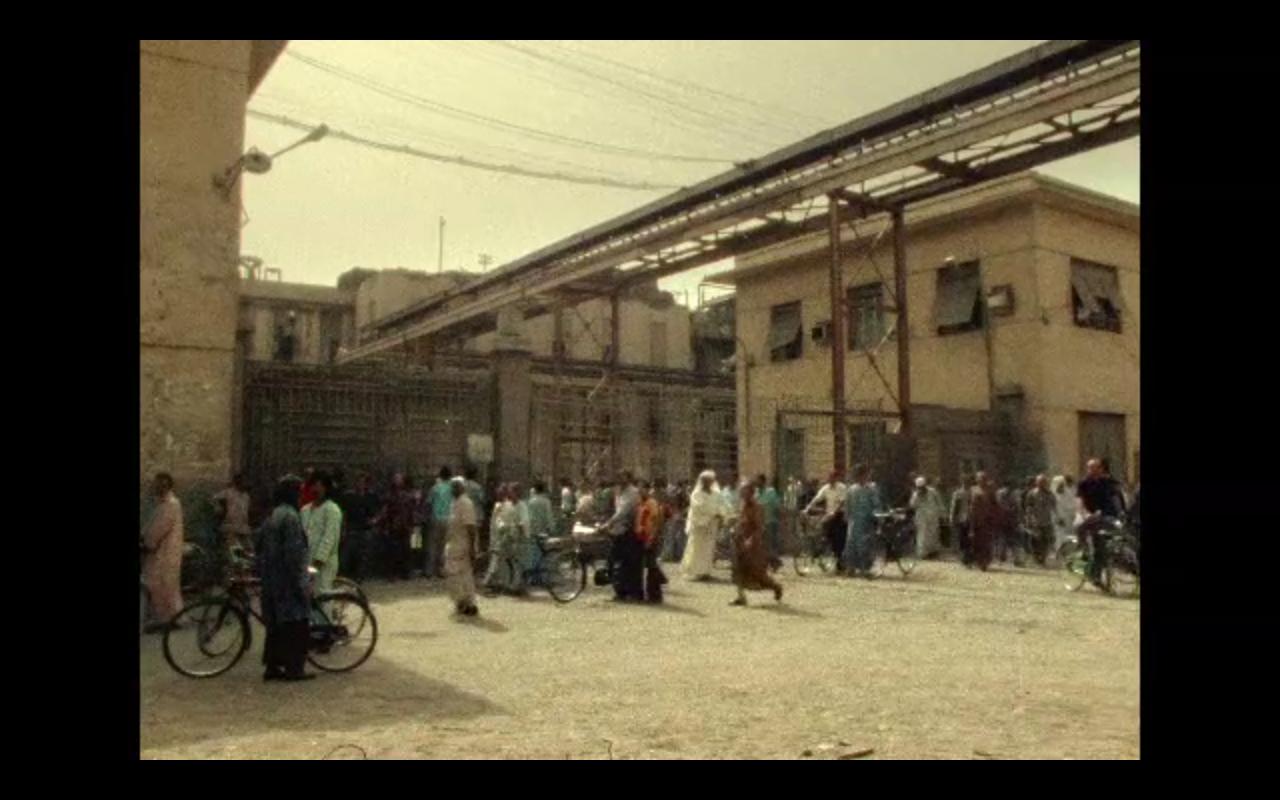 Kommunisten: un'immagine del film di Straub