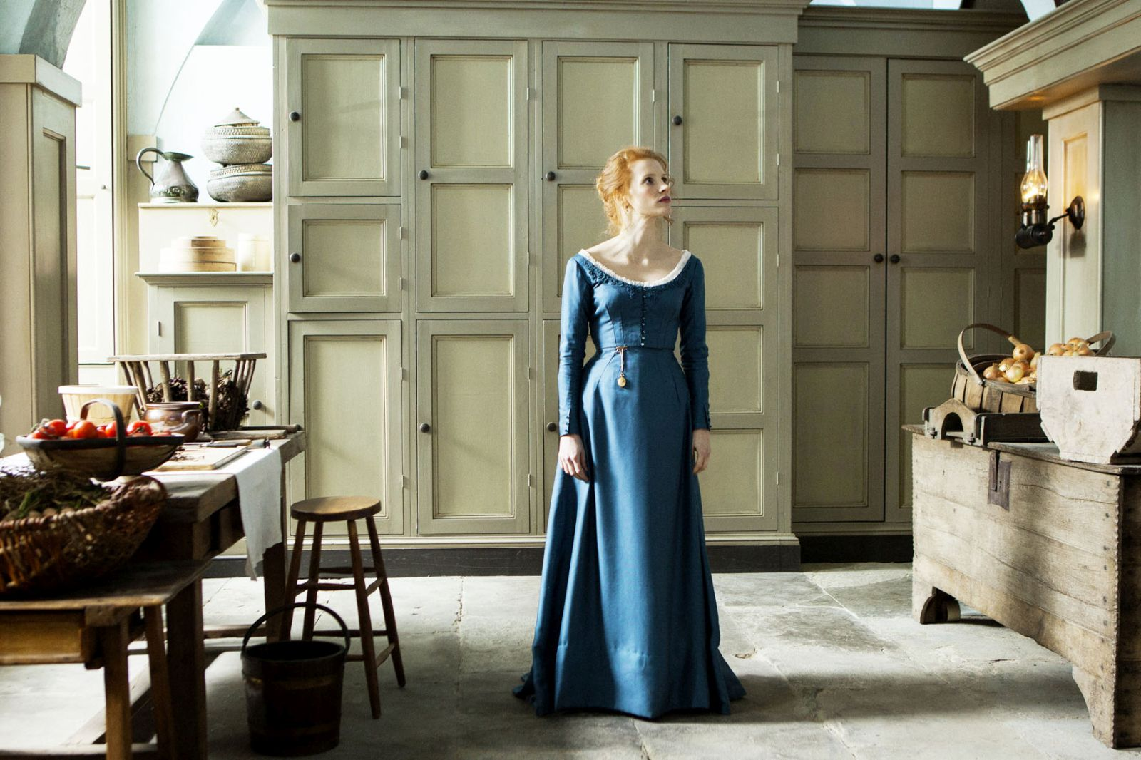 Miss Julie: Jessica Chastain in un'immagine tratta dal film