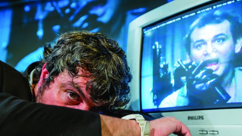 Standby for Tape Back-Up: un'immagine tratta dal film di Ross Sutherland