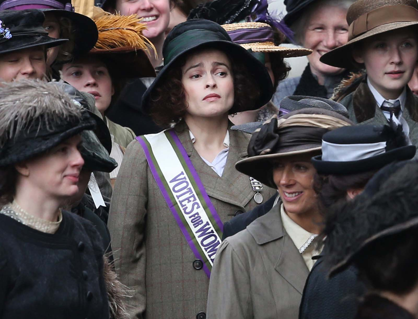 Suffragette: Helena Bonham Carter in un'immagine tratta dal film