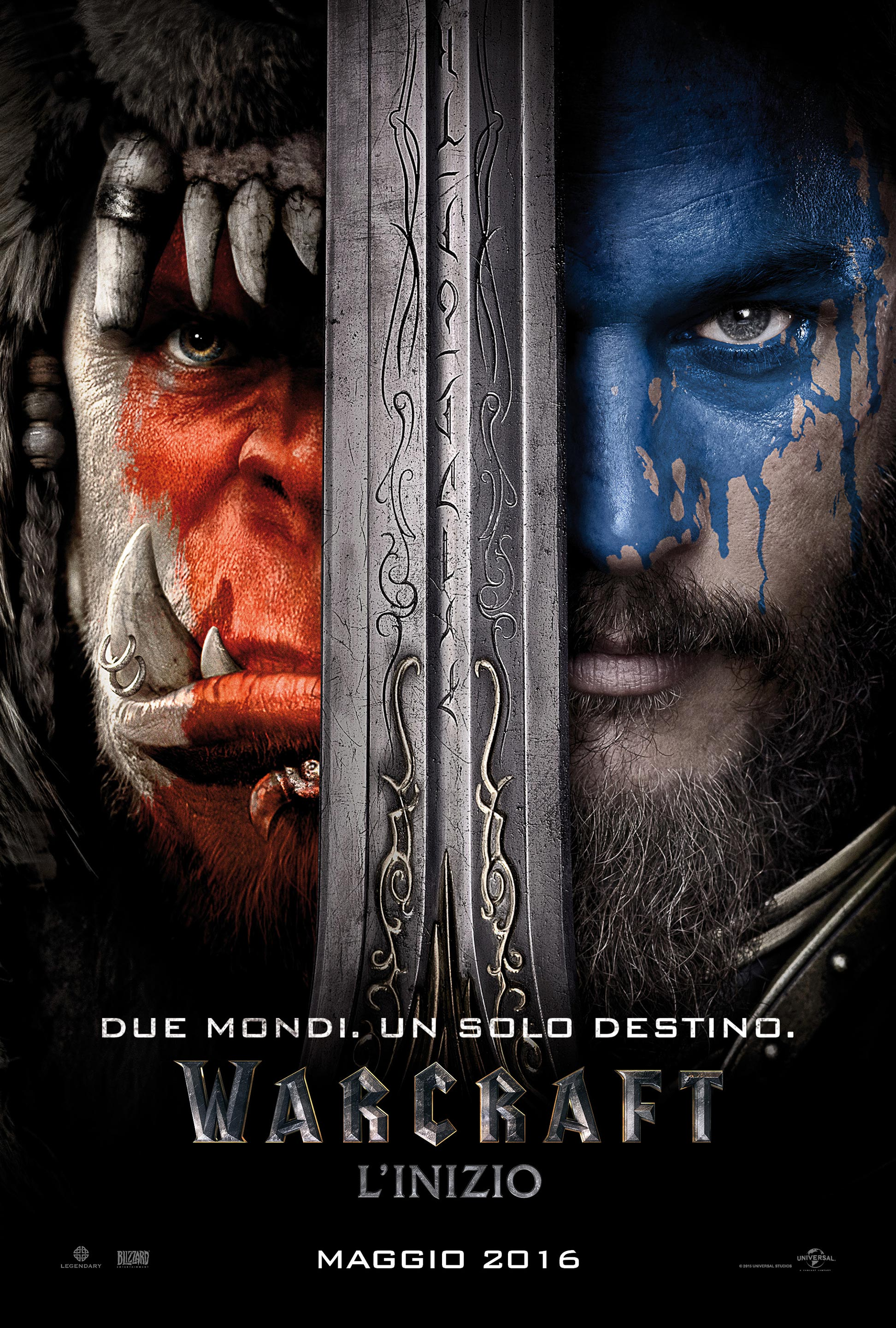 Warcraft: il poster italiano del film