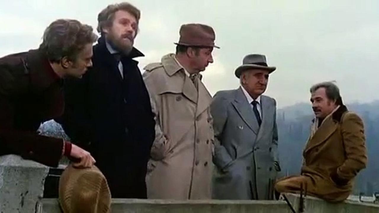 Amici miei: un'immagine tratta dalla celebre pellicola firmata da Mario Monicelli