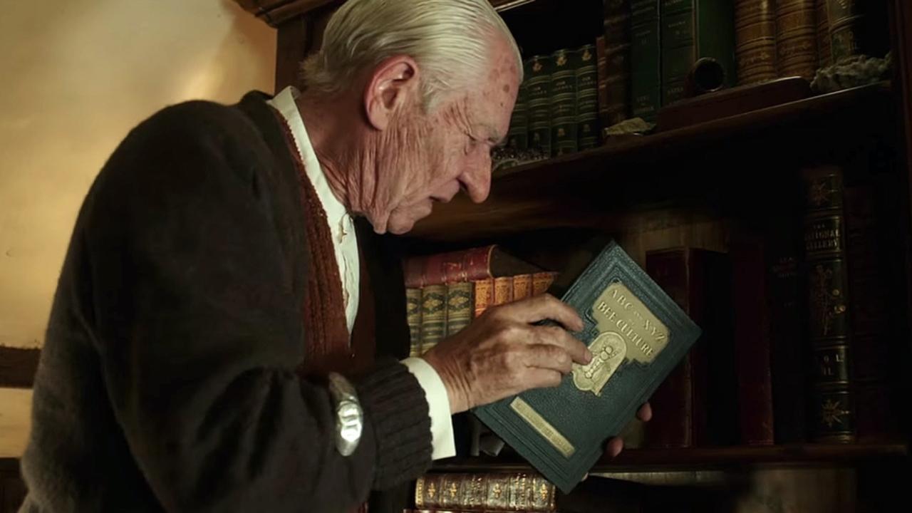 Mr. Holmes - Il mistero del caso irrisolto: Ian McKellen in una scena del film di cui è protagonista