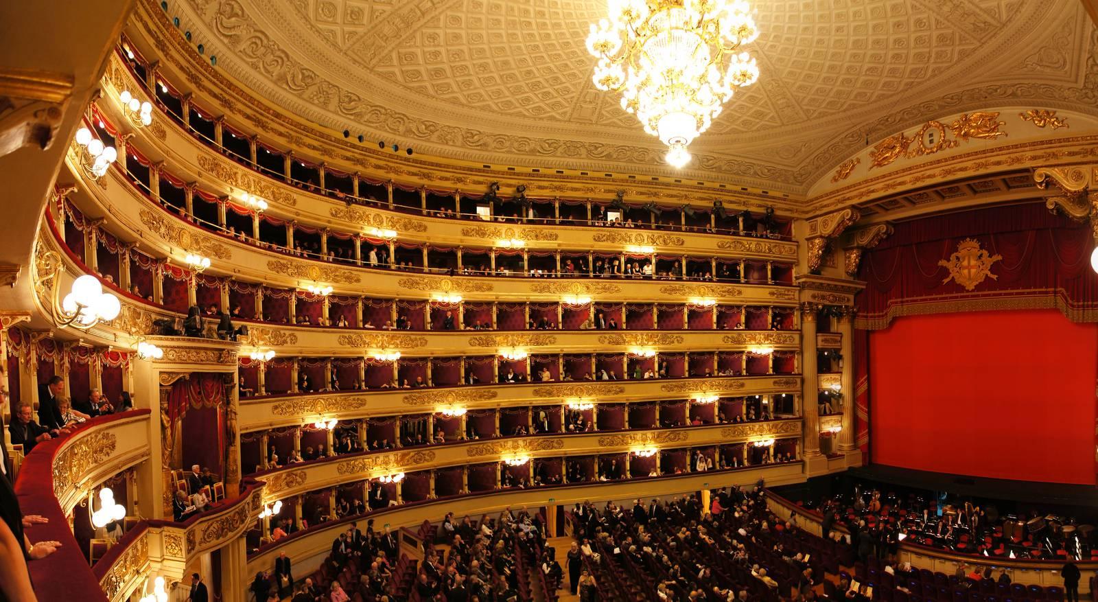 Teatro alla Scala - Il tempio delle meraviglie: un'immagine del celebre teatro