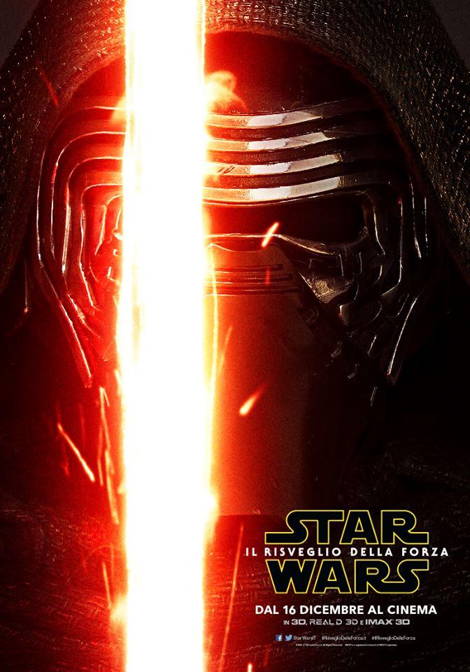 Star Wars: Il Risveglio della Forza, character poster di Adam Driver
