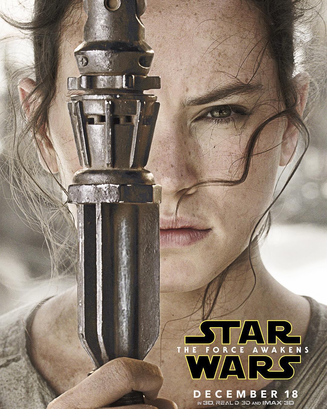 Star Wars: Episodio VII - Il Risveglio della Forza: il character poster di Daisy Ridley