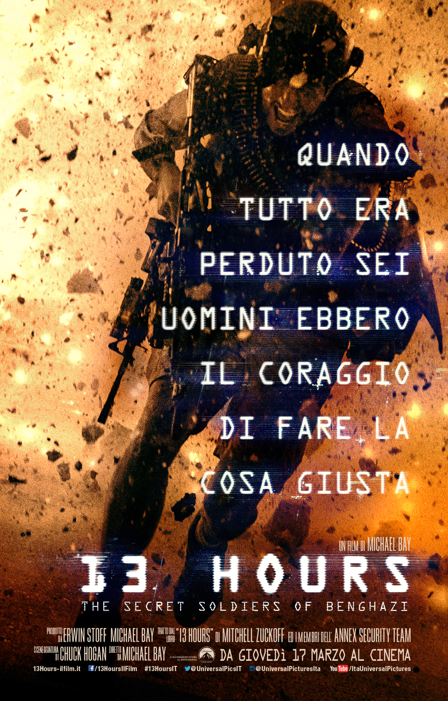 13 Hours: The Secret Soldiers of Benghazi - La locandina italiana