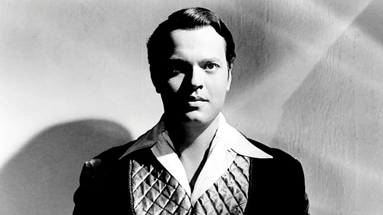 Il mago - L'incredibile vita di Orson Welles: un'immagine che ritrae un giovane Orson Welles