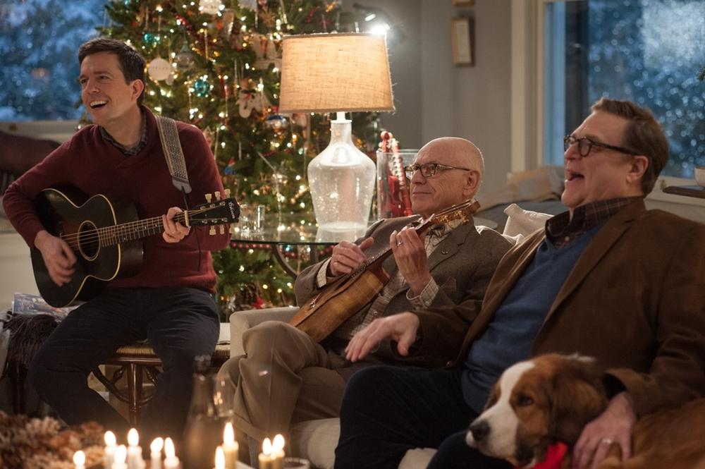 Natale all'improvviso: Ed Helms, Alan Arkin e John Goodman in una scena del film