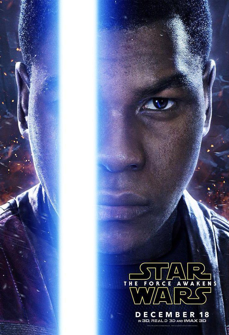 Star Wars: Episodio VII - Il Risveglio della Forza: il character poster di John Boyega
