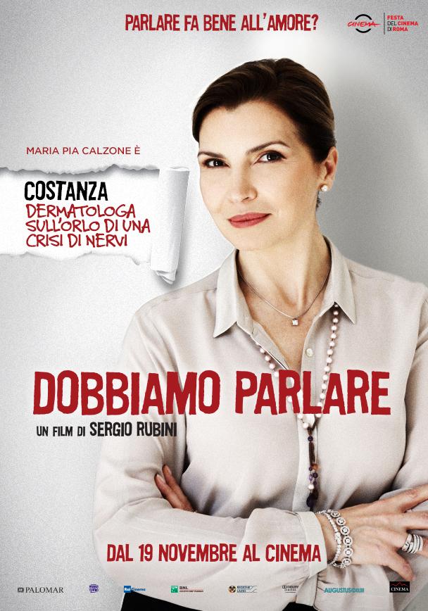 Dobbiamo parlare, character poster di Maria Pia Calzone