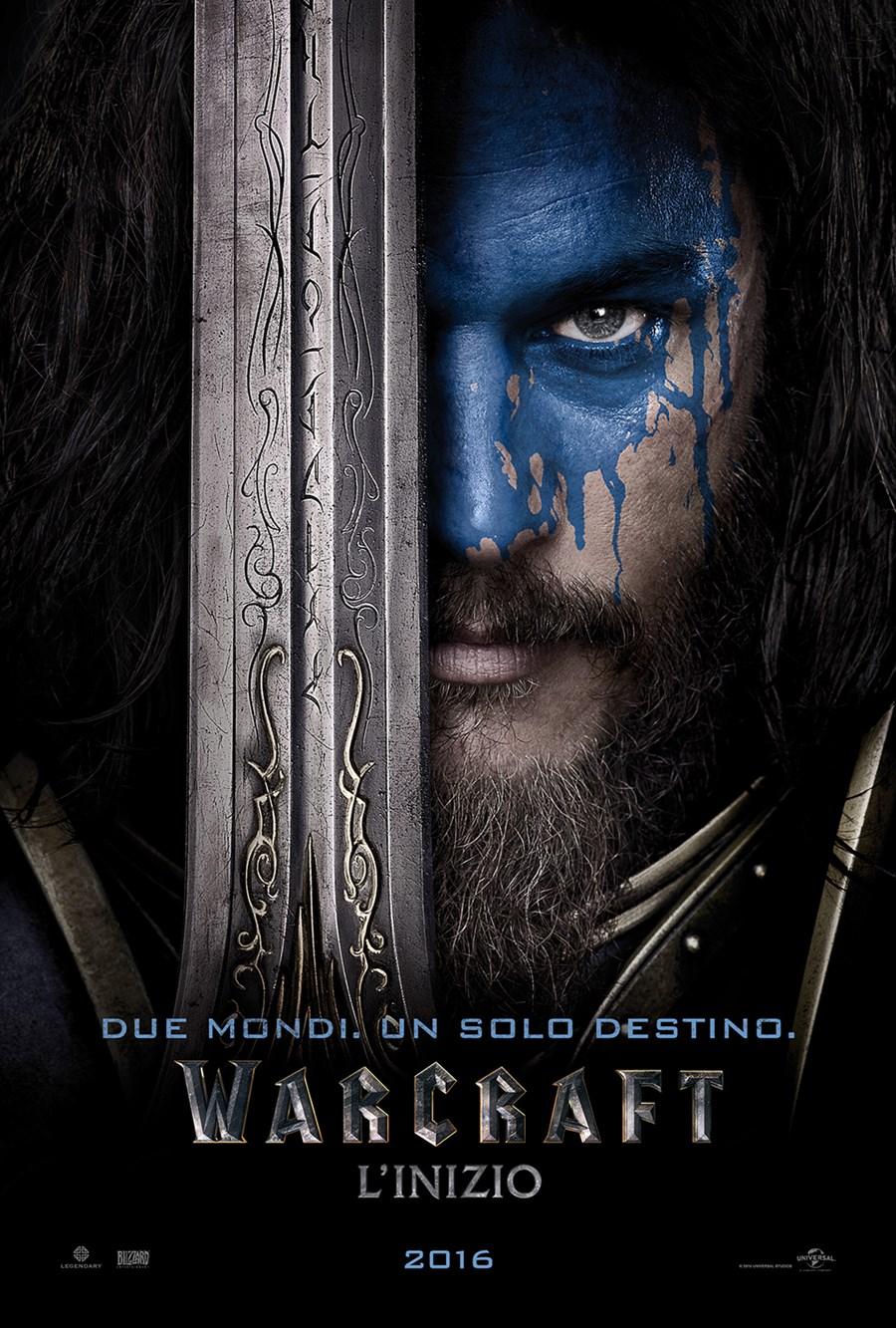 Warcraft - L'inizio: il character poster di Lothar