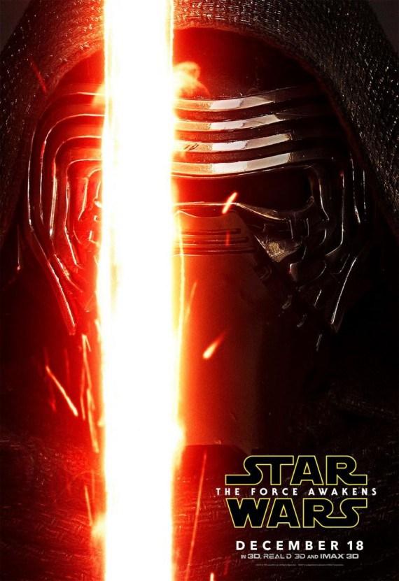 Star Wars: Il Risveglio della Forza, il character poster originale di Adam Driver