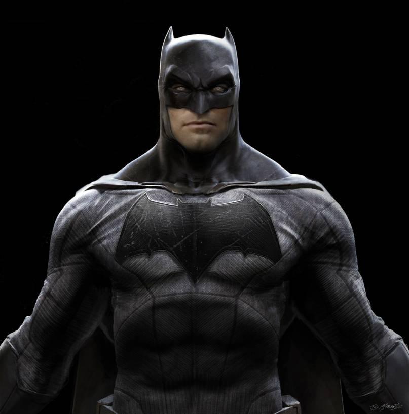 Batman v Superman: Dawn of Justice - Il concept art dell'Uomo Pipistrello