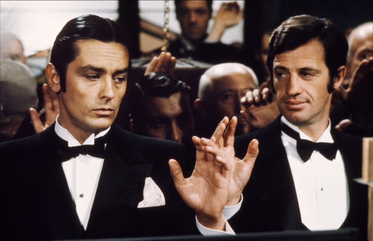 Alain Delon in Borsalino