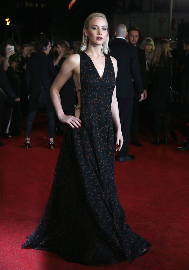 Jennifer Lawrence alla premiere di Hunger Games, il canto della rivolta parte 2